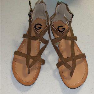 NWOT G by Guess strappy sandals